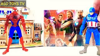 Wrong Superhero Heads Funny Toys and Funny Dances