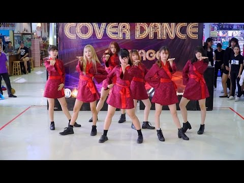 170429 Bubble Catching cover Dreamcatcher - GOOD NIGHT + Chase Me @ Asawann Cover Dance 2017