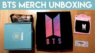 Unboxing Some BTS Merch!