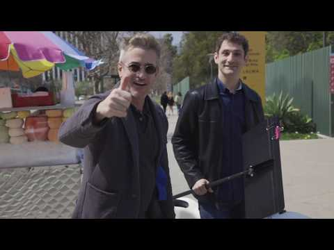Famous Cellist Dale Henderson & Actor Dermot Mulroney Play Bach