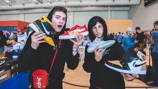 The $100 Sneaker & Streetwear Show Challenge!