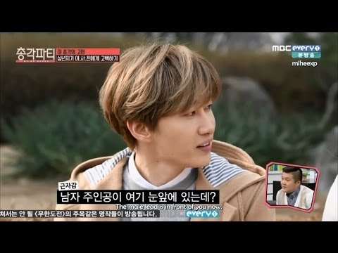 [ENG SUB] 150416 Bachelor Party - Eunhyuk's Confession