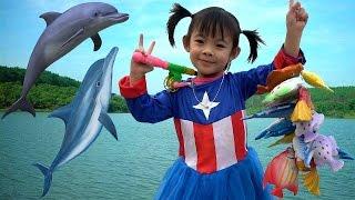 Let's Go Fishing Game For Kids – Bộ Đồ Chơi Câu Cá Cho Bé ❤ AnAn ToysReview TV ❤