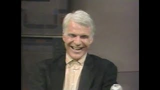 Steve Martin on Late Night, July 30, 1987