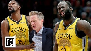 Did Draymond deserve the flagrant foul call that led to Steve Kerr's ejection? | Get Up!
