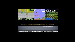 How to play Nintendo NES 8-bit games on your pc or mac