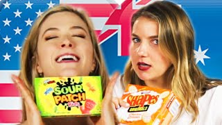 Americans & Australians Swap Snacks