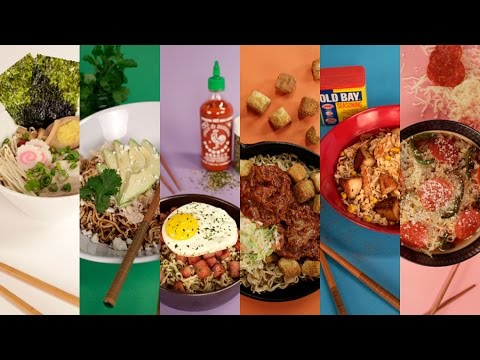 How to Make Ramen 5 All-American Ways | Get the Dish