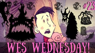 Wes Wednesday Challenge - The Shadow Pieces Boss Fight [Don't Starve Together]