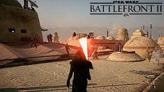 Kylo Ren Vs 1000 Troopers REALISTIC NO HUD - Star Wars Battlefront 2