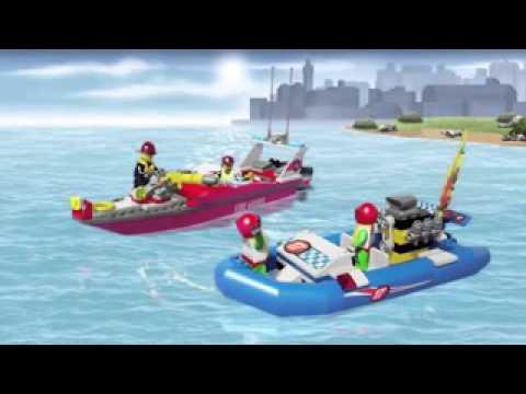 Funskool Lego City Fire Boat