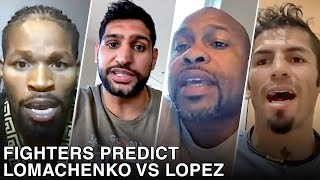 PRO FIGHTERS PREDICT VASYL LOMACHENKO VS TEOFIMO LOPEZ
