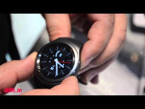 Samsung Gear S2 Smartwatch First Look  Digitin