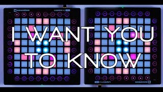 Nevs Play: Zedd - I Want You To Know (Launchpad Pro Cover)