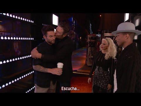 Christina Aguilera - Blake versus Adam - The Voice 8 (Subtítulos español)