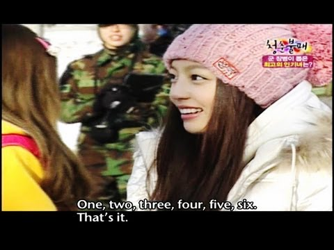 Invincible Youth | 청춘불패 - Ep.13 : Snow shoveling, G7 popularity test
