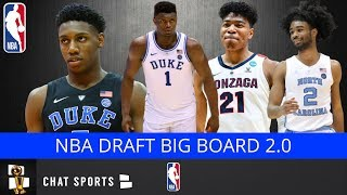 2019 NBA Draft: Updated Top 30 Players In This Year's Draft | Big Board v2.0