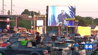 Brad Paisley kicks off drive-in concert series in St. Louis