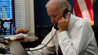 Vice President Joe Biden Calls The Penny Ice Creamery