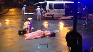 Hậu trường Mv Trong trí nhớ của anh - cảnh Nabi Nhã Phương tai nạn - Nguyễn Trần Trung Quân