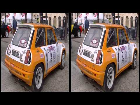 Some Classic Rally Cars in 3D