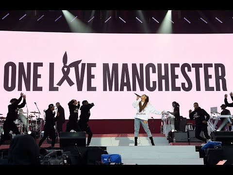 All Ariana Grande's songs during One Love Manchester concert