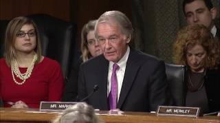 Senator Markey Questions ExxonMobil CEO Rex Tillerson at Confirmation Hearing - Full - 1/11/17