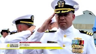 (VTC14)_Tìm thấy thi thể thủy thủ tàu khu trục Mỹ sau va chạm với tàu hàng