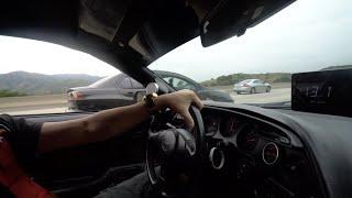 BLACK WIDOW SUPRA RACES SUPERCAR SUSPECTS!