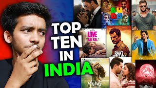Top 10 Most Watched movie of 2020 in INDIA   Netflix