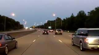 Interstate 264 Into Virginia Beach