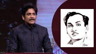 Nagarjuna Emotional Speech at ANR National Awards 2018 - 2019