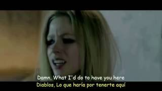 Avril Lavigne - Wish You Were Here (Lyrics & Sub Español) Official Video