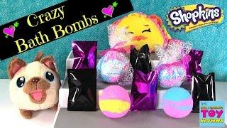 Shopkins Bath Bombs #27 Disney Tsum Tsum Minecraft Grossery Gang Blind Bag   PSToyReviews