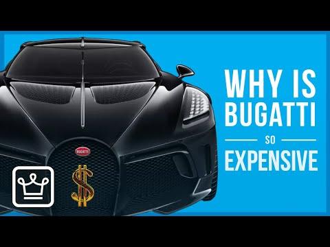 Зошто Bugatti автомобилите се толку скапи?