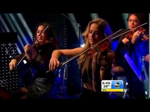 David Guetta - Dangerous ft. Sam Martin (Live at Good Morning America)