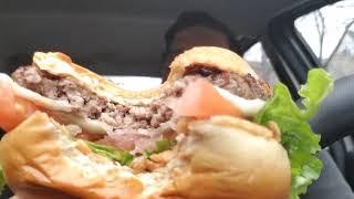 Garlic White Cheddar Burger Review McDonald's