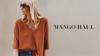MANGO TRY ON HAUL | SPRING SUMMER LOOKBOOK MAY 2019 & GIVEAWAY