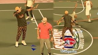 NBA 2k17 MyPark - Back to Back Ankle Breakers! Angry Trash Talker Rage! Road to Legend Ep. 4