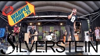 silverstein | live | warped tour 2015 | hd gopro