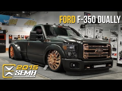 SEMA 2015   Ford F-350 Dually   On D Gas Promotions