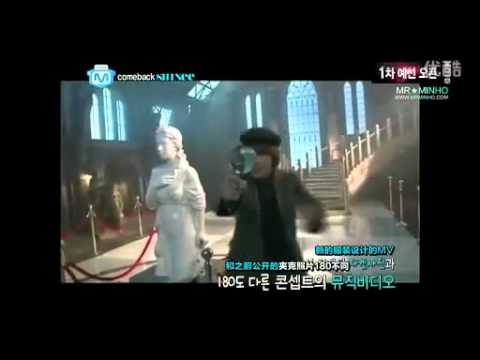 [Eng+Chi] SHINee's Sherlock MV and M!Countdown Behind The Scenes