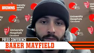 Baker Mayfield Postgame Press Conference vs. Chiefs | Cleveland Browns
