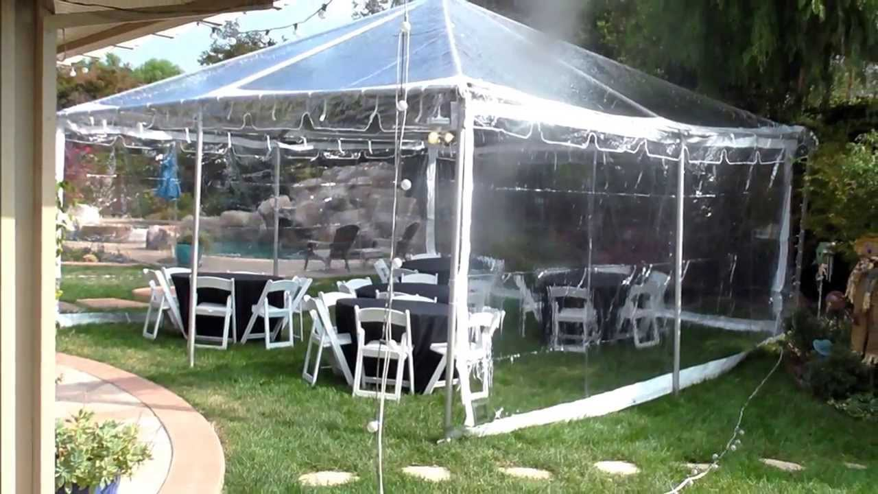 Best Canopy Ever Clear Top Canopy Evening Party Tent