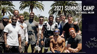 Summer Camp is BACK | Russell Wilson Trains with Seattle Seahawks Wide Receivers at his house