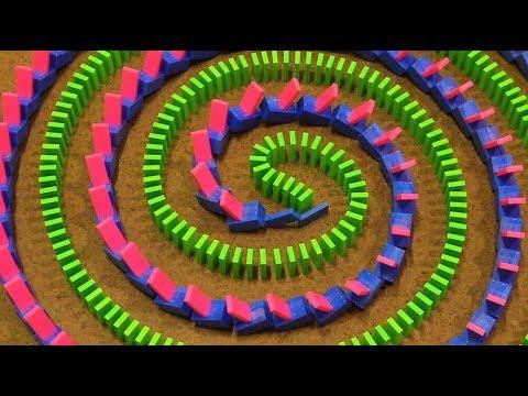UNCONVENTIONAL Domino Tricks! - Hevesh5 & Kaplamino