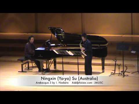 3rd JMLISC Ningxin Yo yo Su Australia Arabesque 3 by I  Nodaira