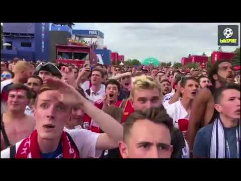 England Fans React to Sweden Win - England vs. Sweden 2-0 - World Cup 2018