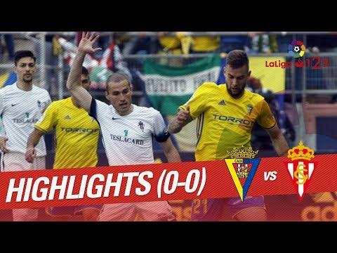 Cadiz vs Sporting Gijon