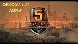 [Hindi] PUBG MOBILE SEASON 5 RANK PUSH
